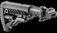 Приклад складной FAB M4  для AK 47, полимер, черный (M4AKP)
