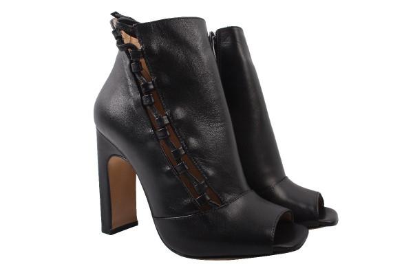 Ботинки Lottini натуральная кожа, цвет черный