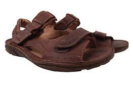 Босоножки,сандали мужские Giorgio натуральная кожа, цвет коричневый