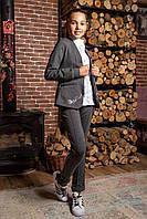 """Брючный костюм 2-ка для девочки """"Графиня"""". Жакет и брюки  140,152р"""