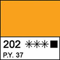 Краска акриловая МАСТЕР-КЛАСС, кадмий желтый темный, 46мл ЗХК
