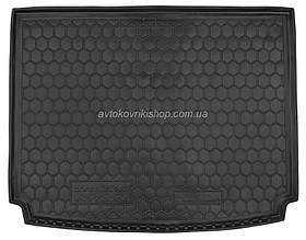 Резиновый коврик багажника Ssang Yong Kyron 2005- (с органайзером) Avto-Gumm