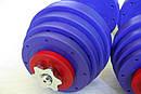 """Гантели наборные """"Титан ПРО"""" 2 шт по 25 кг с блинами 5 кг, фото 3"""