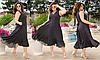 Літня сукня розкльошені в горошок, з 50-60 розмір