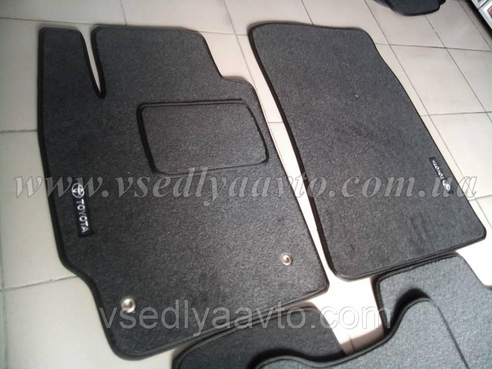 Ворсовые коврики передние Тойота Camry v40 с 2006-2011 гг.