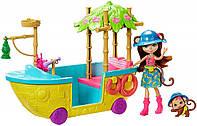 """Игровой набор Enchantimals """"Лодка в джунглях"""", GFN58"""