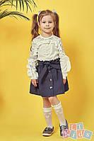 Красивая детская юбка