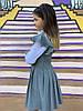 """Школьное детское платье-сарафан """"Талула"""" с перфорацией (3 цвета), фото 4"""