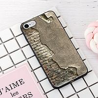 """Винтажный чехол накладка для iPhone 7, 8. """"Стена"""". Силиконовый бампер для айфон."""
