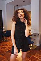 "Летний женский костюм ""Мехико"" - (черный, оранж, мята, пудра), фото 6"