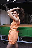 "Летний женский костюм ""Мехико"" - (черный, оранж, мята, пудра), фото 7"