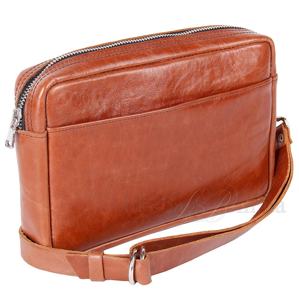 Кожаная сумочка на пояс 77702