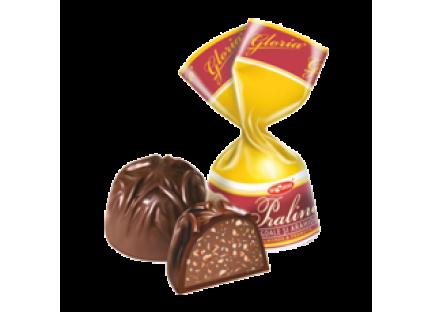 """Молдавские шоколадные конфеты """"GLORIA PRALINE (MIGDALE)"""" ТМ Букурия, фото 2"""