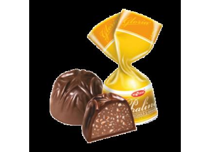 """Молдавские шоколадные конфеты """"GLORIA PRALINE (NUCĂ GRECEASCĂ)"""" ТМ Букурия"""