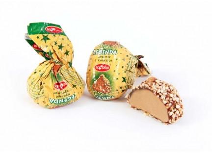 """Молдавские шоколадные конфеты """"LEGENDA (CU SUSAN)"""" ТМ Букурия"""