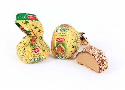 """Молдавские шоколадные конфеты """"LEGENDA (CU SUSAN)"""" ТМ Букурия, фото 2"""