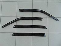 Дефлекторы окон ВАЗ 2110 седан,2112 хэтчбек, ANV комплект ветровиков на скотче