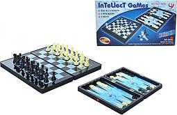 Шахматы Metr+ Шахматы 8899 магнитные, 3в1, SKU_8899