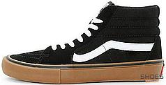 Мужские кеды Vans Old Skool High Top Black/Gum VN000VHGB9M, Ванс Олд Скул
