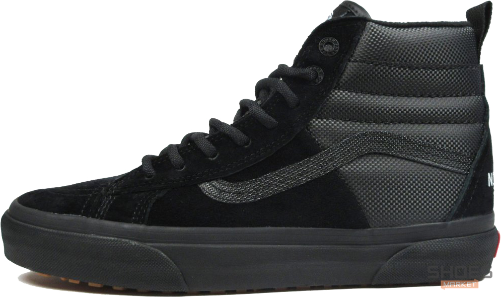 Мужские кеды Vans x The North Face Sk8-Hi Black Vn0a3dq5qwr,  Ванс Sk8-Hi