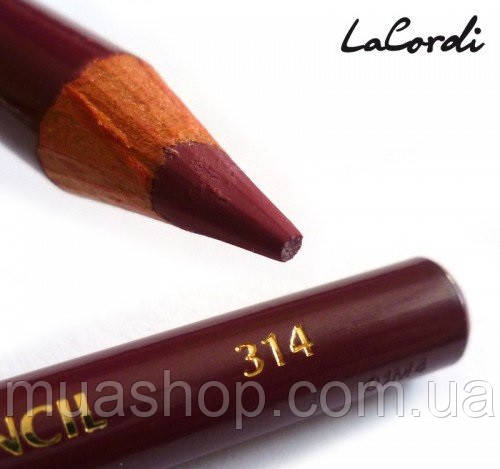 Карандаш для губ LaCordi №314 Ежевичный мусс