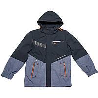 Куртка подростковая демисезонная для мальчика  синяя