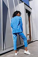 Брючный женский костюм  - разные цвета, фото 2