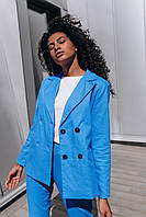 Брючный женский костюм  - разные цвета, фото 3