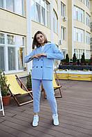 Брючный женский костюм  - разные цвета, фото 8