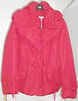 Куртка с затяжкой на талии