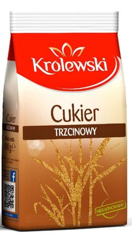 Сахар тростниковый Krolewski 500 g, фото 2