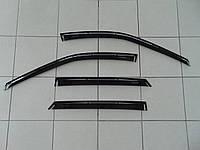 Дефлекторы окон ВАЗ 1118 Калина седан, ANV комплект ветровиков на скотче