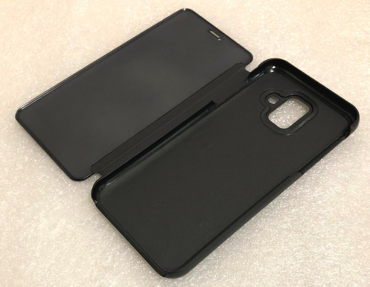 """Чохол книжка """"CLEAR VIEW..."""" для Samsung Galaxy A6 2018 (A600) black"""