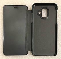 """Чохол книжка """"CLEAR VIEW..."""" для Samsung Galaxy A6 2018 (A600) black, фото 3"""