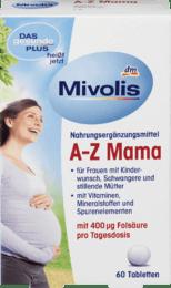 Das Gesunde Plus Mivolis A-Z Mama комплекс вітамінів для вагітних і мам 60 шт.