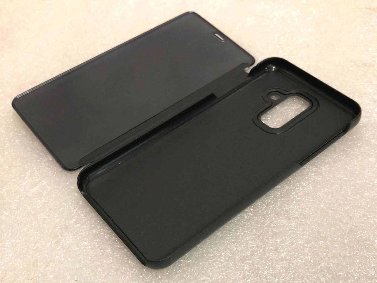 """Чохол книжка """"CLEAR VIEW..."""" для Samsung Galaxy A6 Plus 2018 (A605) black"""