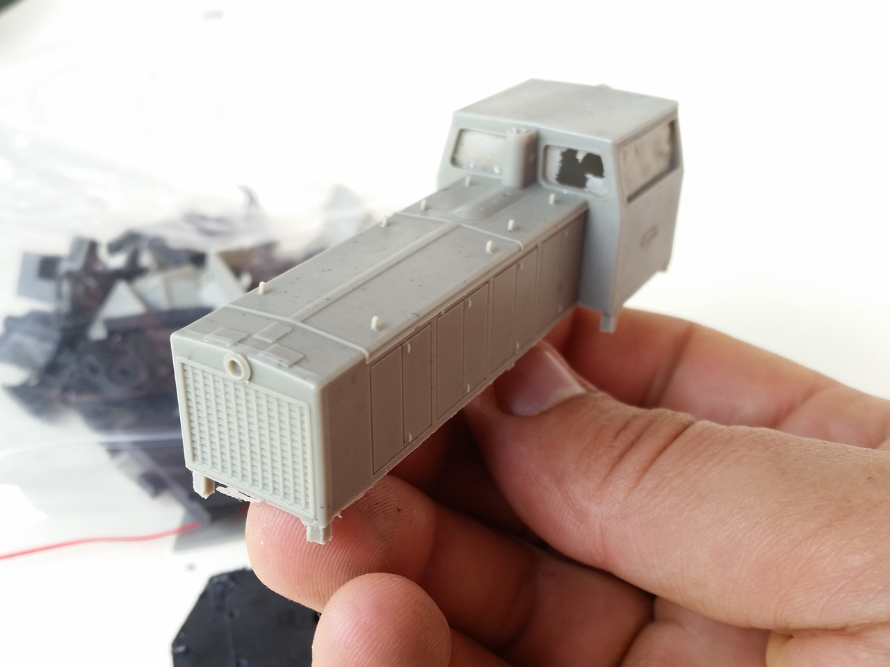 Модель для сборки тепловоз ТГМ40 / 1:87