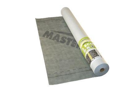 Кровельная Mastermax 3 Eco супердиффузионная мембрана (115кг/м3) 75м2