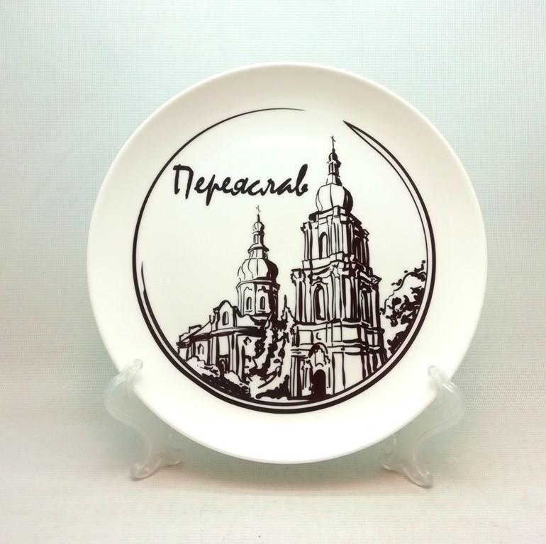 Печать на тарелках, нанесение лого на посуду