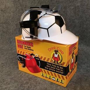Шлем для пива футбол, футбольный шлем