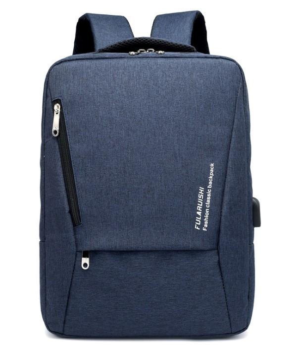 """Городской рюкзак для ноутбука 15.6"""" Digital Fred blue"""