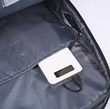 "Городской рюкзак для ноутбука 15.6"" Digital Fred blue, фото 4"