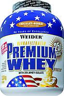 Протеин WEIDER PREMIUM WHEY 2,3 kg Chocolate - Nougat