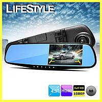 Зеркало видеорегистратор заднего вида Vehicle Blackbox DVR / Автомобильный видеорегистратор