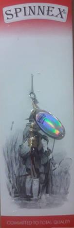 Блешня вертушка Spinnex №1, фото 2