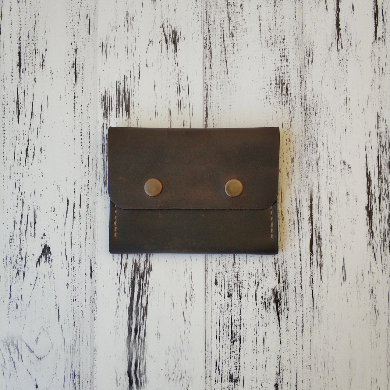 Кожаный мини кошелек Stedley