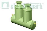 Пескоотделитель, масло-бензоотделитель в одном корпусе