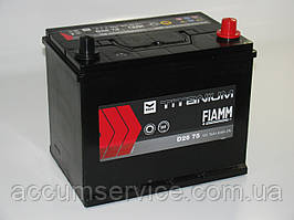 Акумулятор FIAMM black TITANIUM D26 75