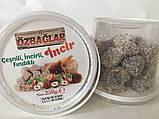 Рахат лукум инжирный с цельным орехом ФУНДУК, 250 гр,OZBACLAR, фото 4