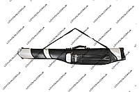 Чехол  для удилищ  черный 1,25 м жесткий